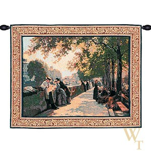 Bank of the River Seine I Tapestry