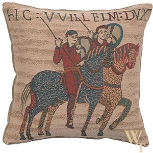 Bayeux Horseriders Cushion Cover