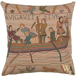 Bayeux L'Embarquement Cushion Cover