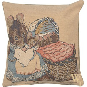 Beatrix Potter Hunca Munca Cushion Cover