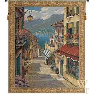Bellagio Village Tapestry