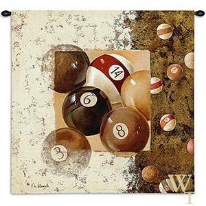 Billiard Balls Tapestry