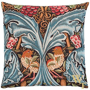 Bird and Acanthus Scrolls  Cushion Cover
