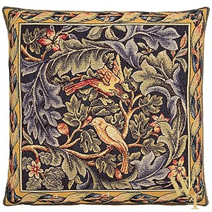 Birds and Acanthus Cushion Cover