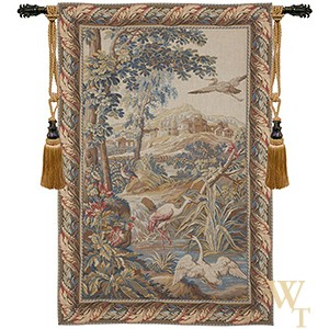 Birds and Stream Tapestry