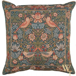 Birds Face to Face II Cushion Cover