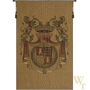 Blason Tours Crest Tapestry