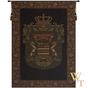 Blason Unicorn Tapestry