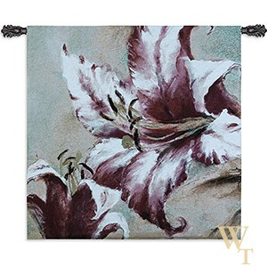 Blooming Lily Tapestry