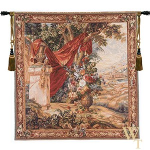 Bouquet au Drape Tapestry