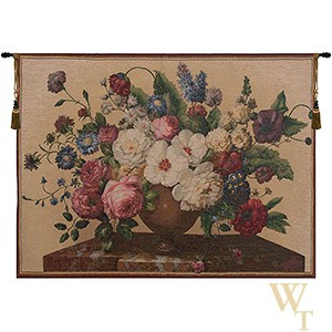 Bouquet Hibiscus Clair Tapestry