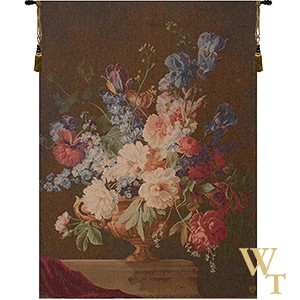 Bouquet Iris Fonce Tapestry