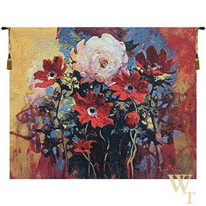 Bouquet - Simon Bull Tapestry