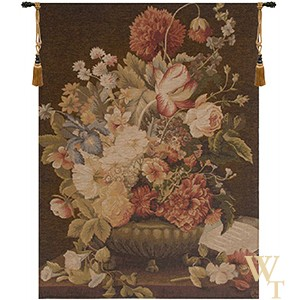 Bouquet Tulipe Fonce Tapestry
