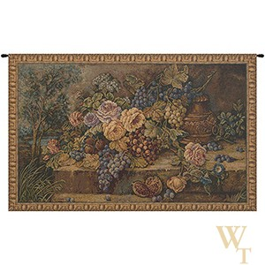 Bouquet with Grapes Tapestry