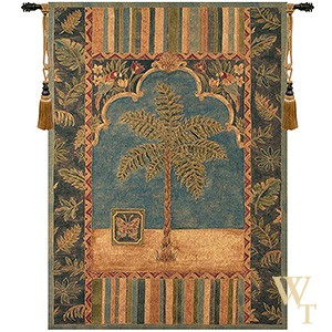 Brocade Palm Tapestry