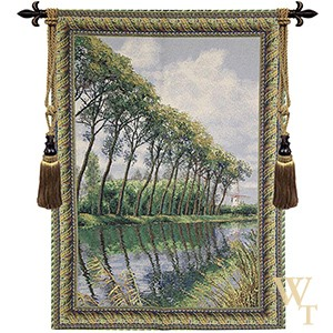 Canal in Flanders Mill Tapestry