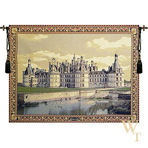 Chambord Castle II Tapestry