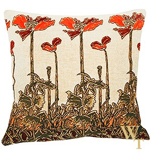 Champ Art Nouveau Cushion Cover