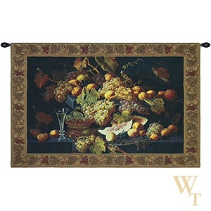 Champagne and Fruit Tapestry