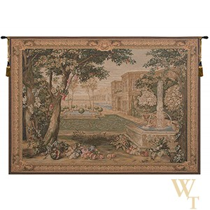 Chateau Fountain II Tapestry