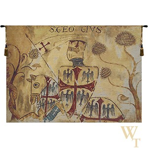 Chevaliers - Left Side Tapestry