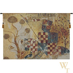 Chevaliers - Right Side Tapestry