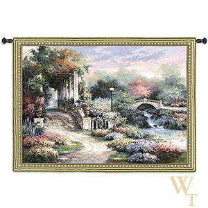 Classic Garden Retreat Tapestry