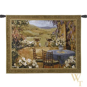 Countryside Terrace Tapestry