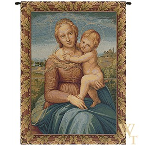 Cowper Madonna - Raphael Tapestry