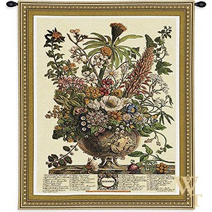 December Botanical Tapestry