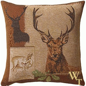 Deer Doe Cushion Cover