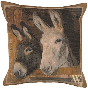 Donkeys Cushion Cover
