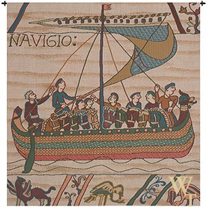 Duke William Ship Tapestry