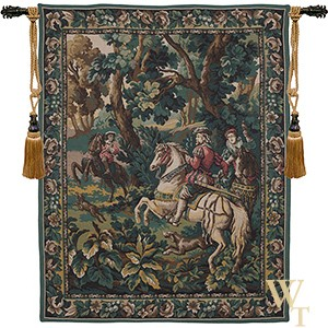 Emperor Maximilian Hawking - Right Tapestry