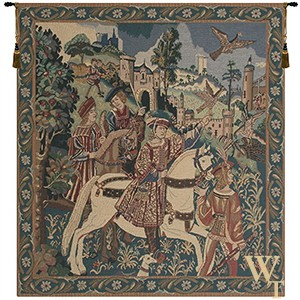 Falcon Hunt Tapestry