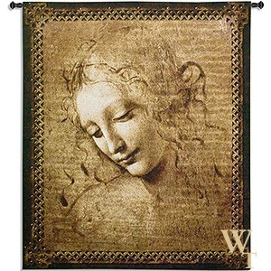 Female Head Tapestry