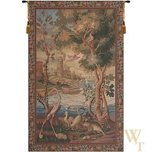 Flamingo Verdure Tapestry