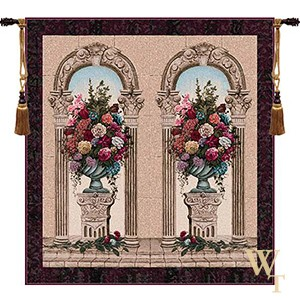 Floral Arch Duo Tapestry