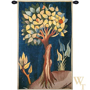 Fruit Tree Arbre Fruitier Tapestry