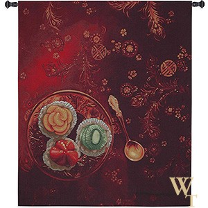 Golden Spoon Tapestry