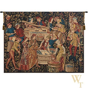 Grapes Harvest Vendanges Tapestry