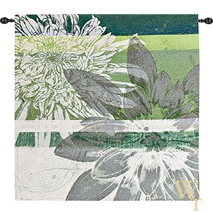 Graphic Blooms I Tapestry