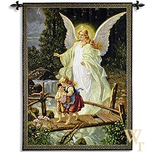 Guiding Angel Tapestry