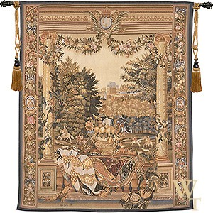 Handwoven Le Palais Royal  Tapestry
