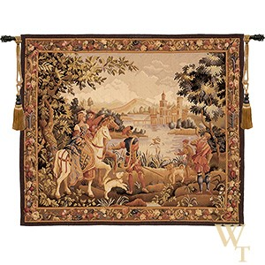 Handwoven The Noble Outing Tapestry