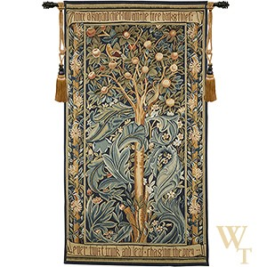 Handwoven The Woodpecker - William Morris Tapestry