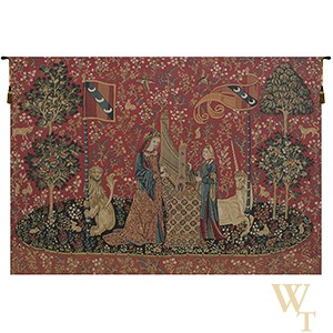 Hearing (L'Ouie) I Tapestry