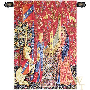Hearing (L'Ouie) III Tapestry