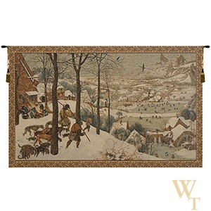Hunting in the Snow Tapestry